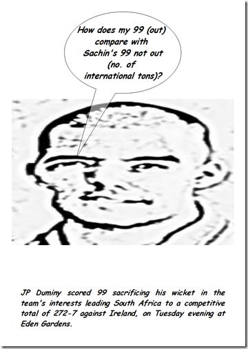 Duminy 99